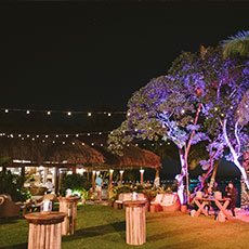 Event at the beach lawn shack