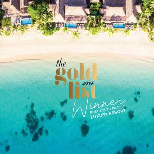 WINNER - Best South Pacific Luxury Resort 2019